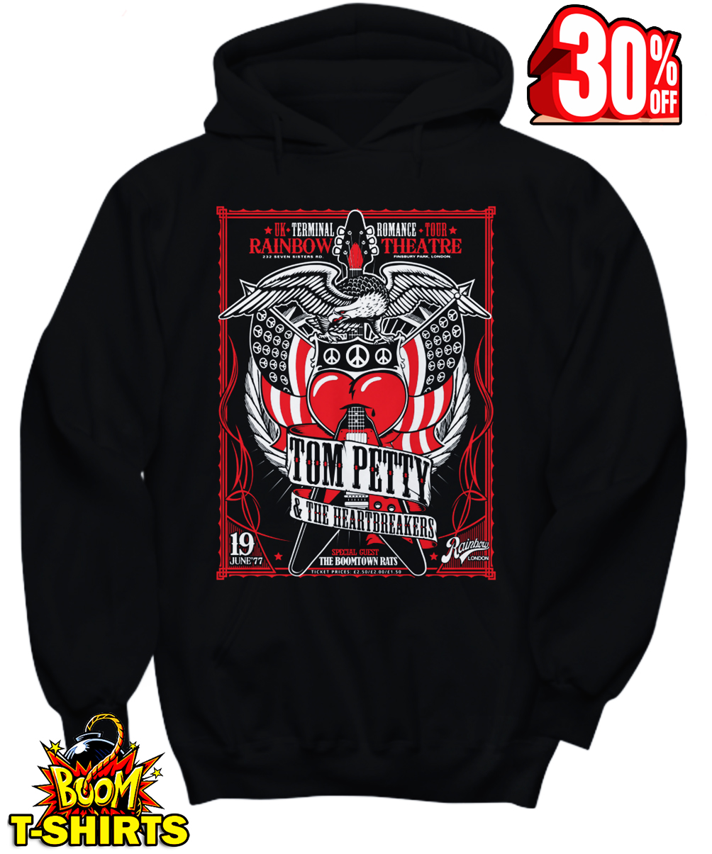 Tom Petty and The Heartbreakers hoodie