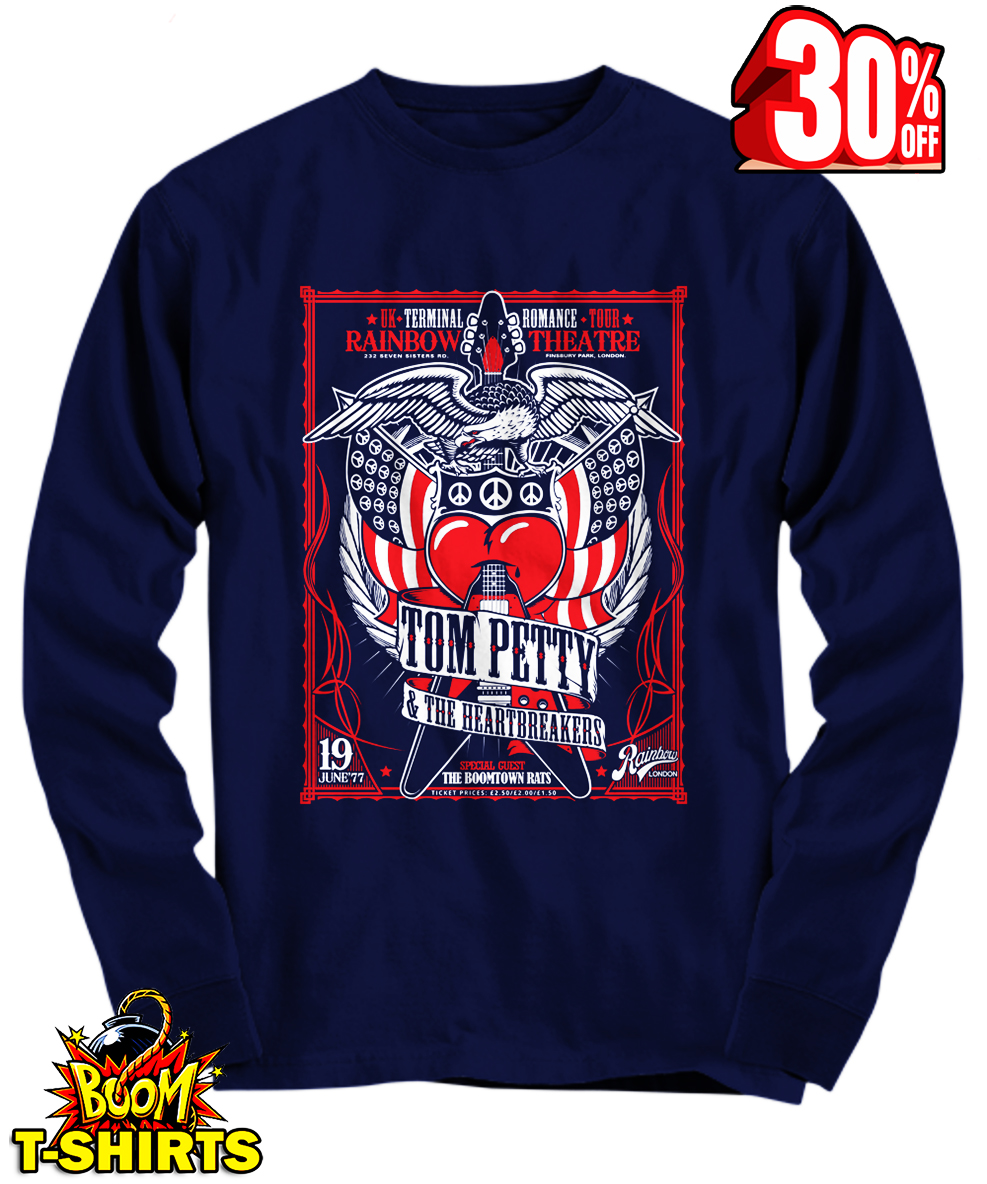 Tom Petty and The Heartbreakers long sleeve tee