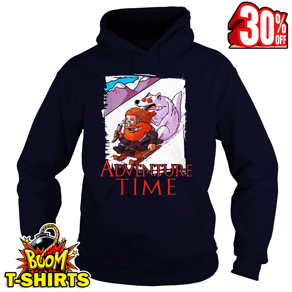 Tormund Giantsbane Snowboarding Adventure Time Game Of Thrones hoodie