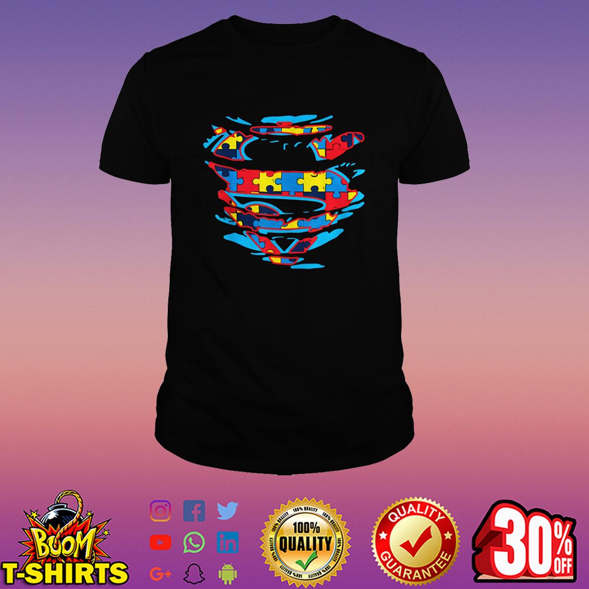 Autism Superman shirt