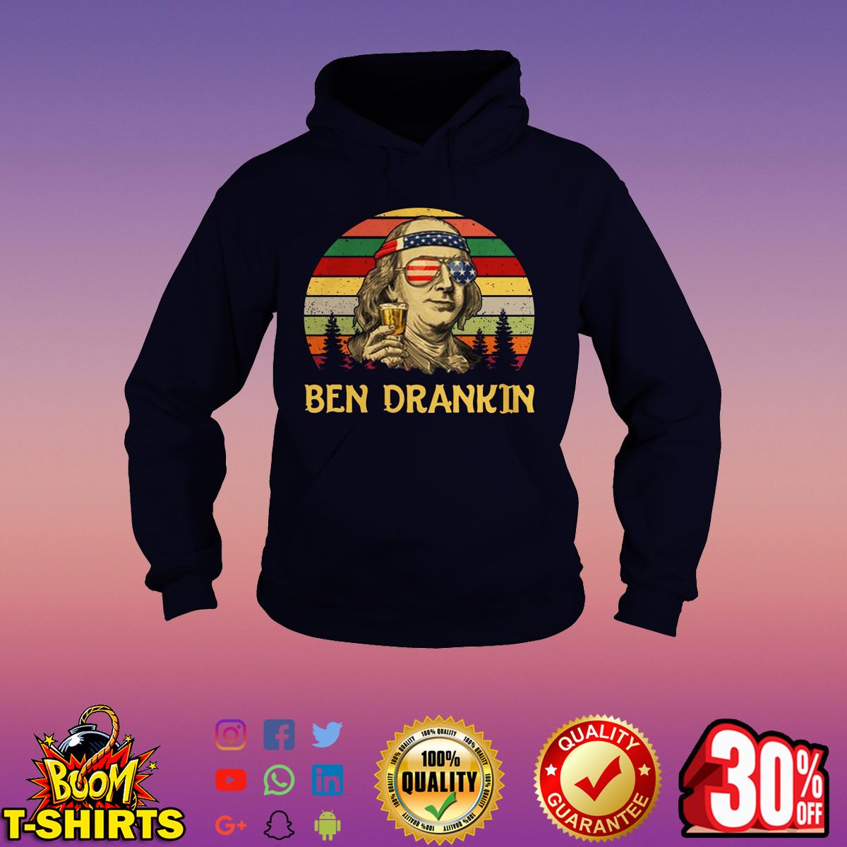 Ben Drankin 4th Of July vintage hoodie