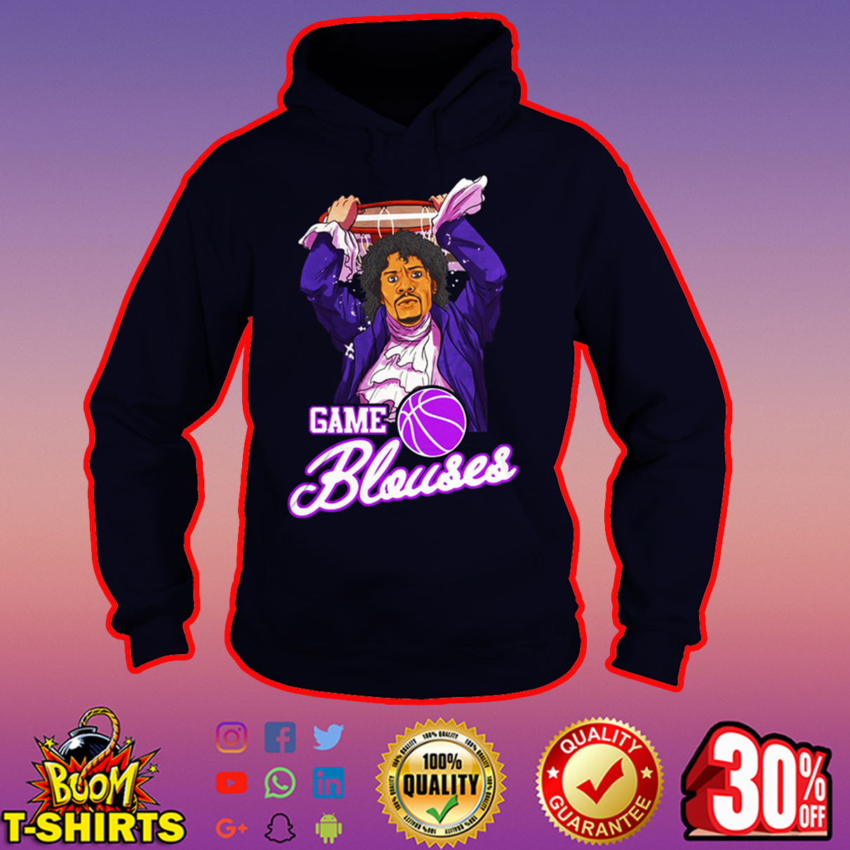 Game Blouses Chappelle's Show Charlie Murphy hoodie