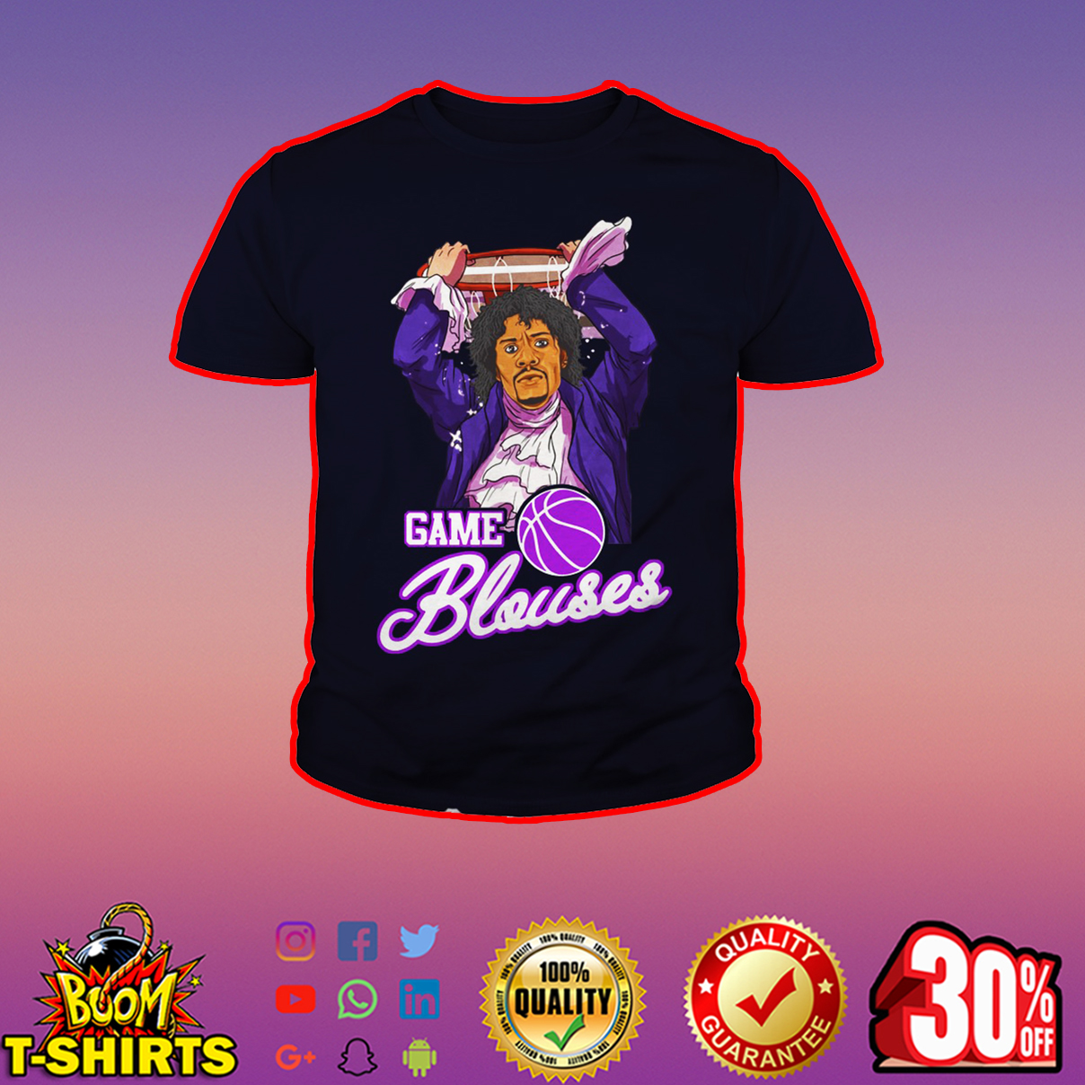 Game Blouses Chappelle's Show Charlie Murphy youth tee