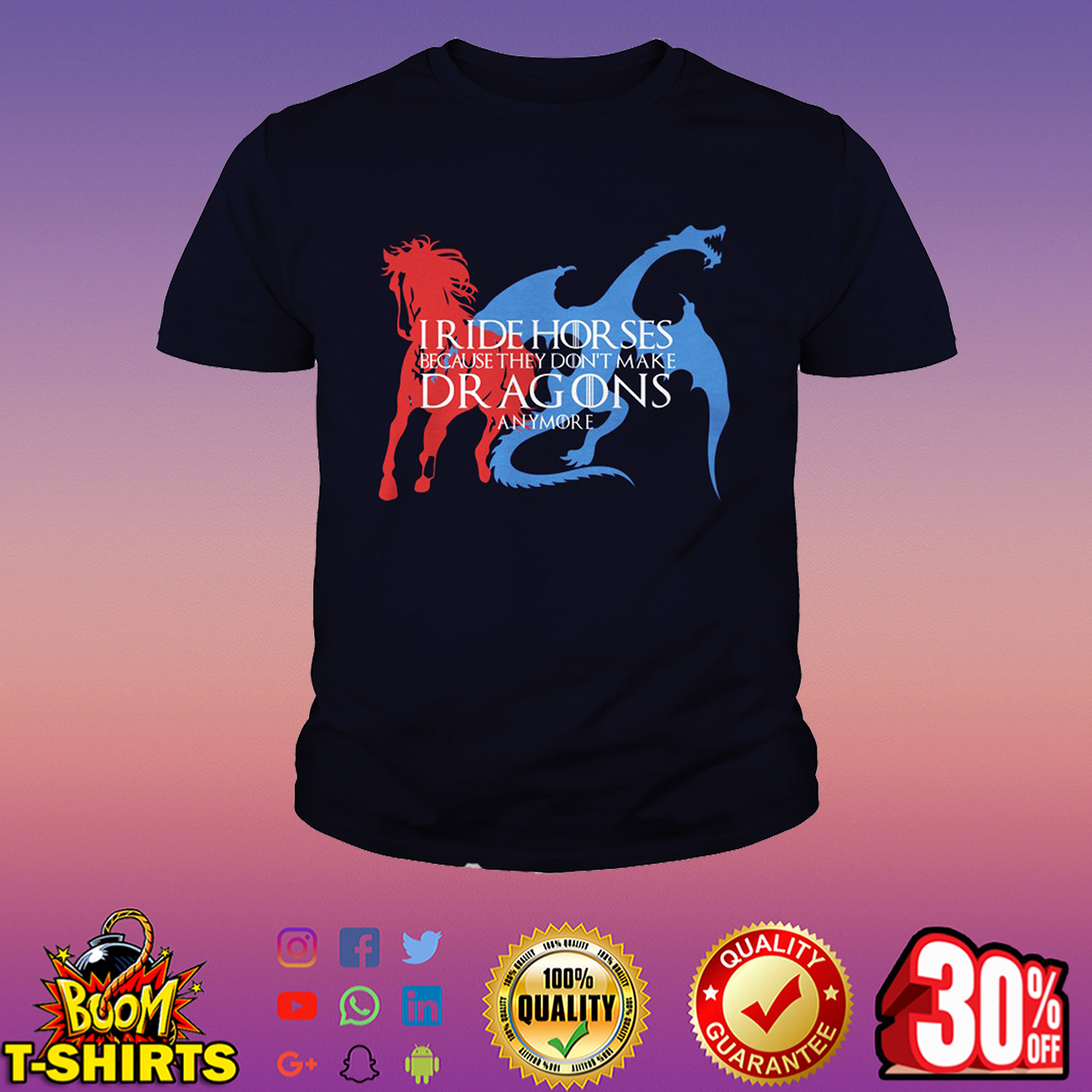 Iride horses because they don't make dragons anymore youth tee