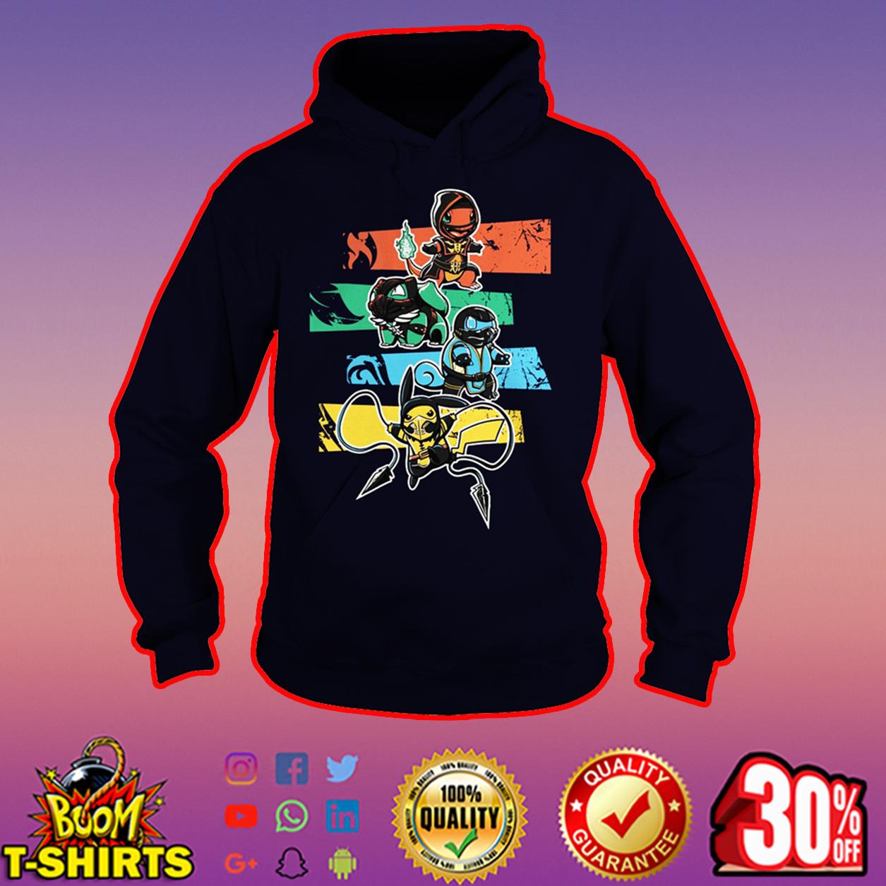 Pokemon x Mortal Kombat hoodie