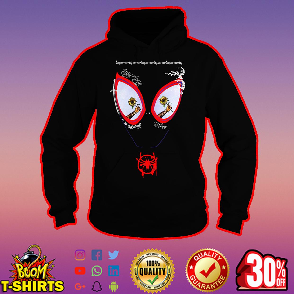 Sunflower Post Malone Spider-Man hoodie