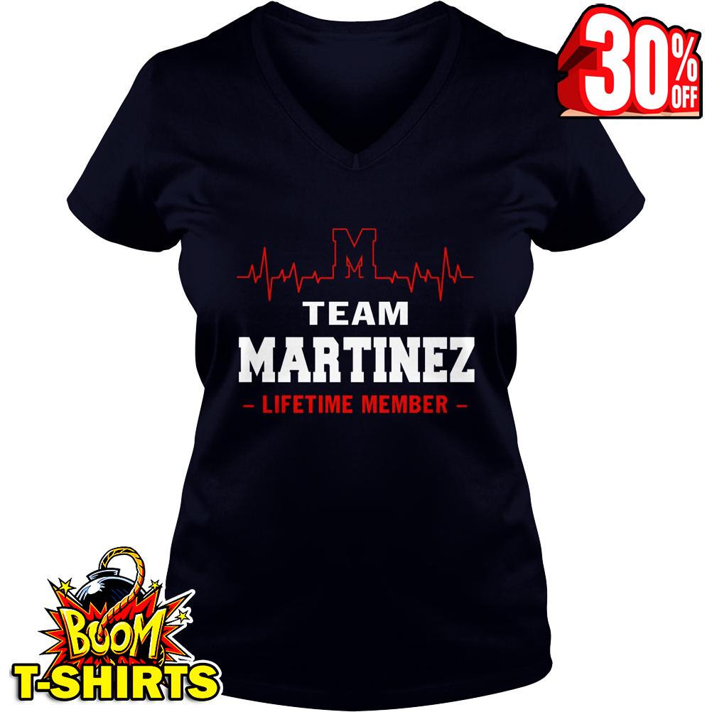 Team Martinez lifetime member v-neck