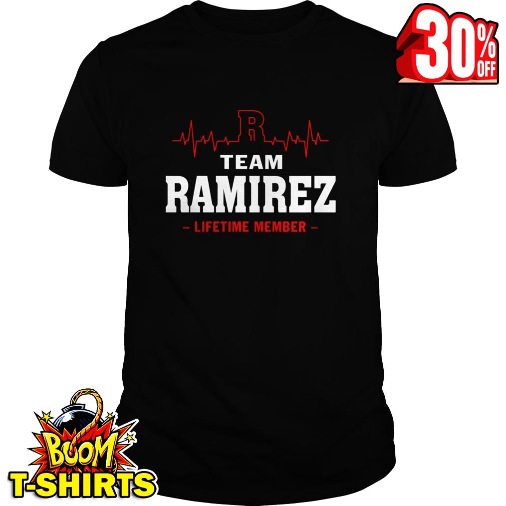 Team Ramirez lifetime member shirt