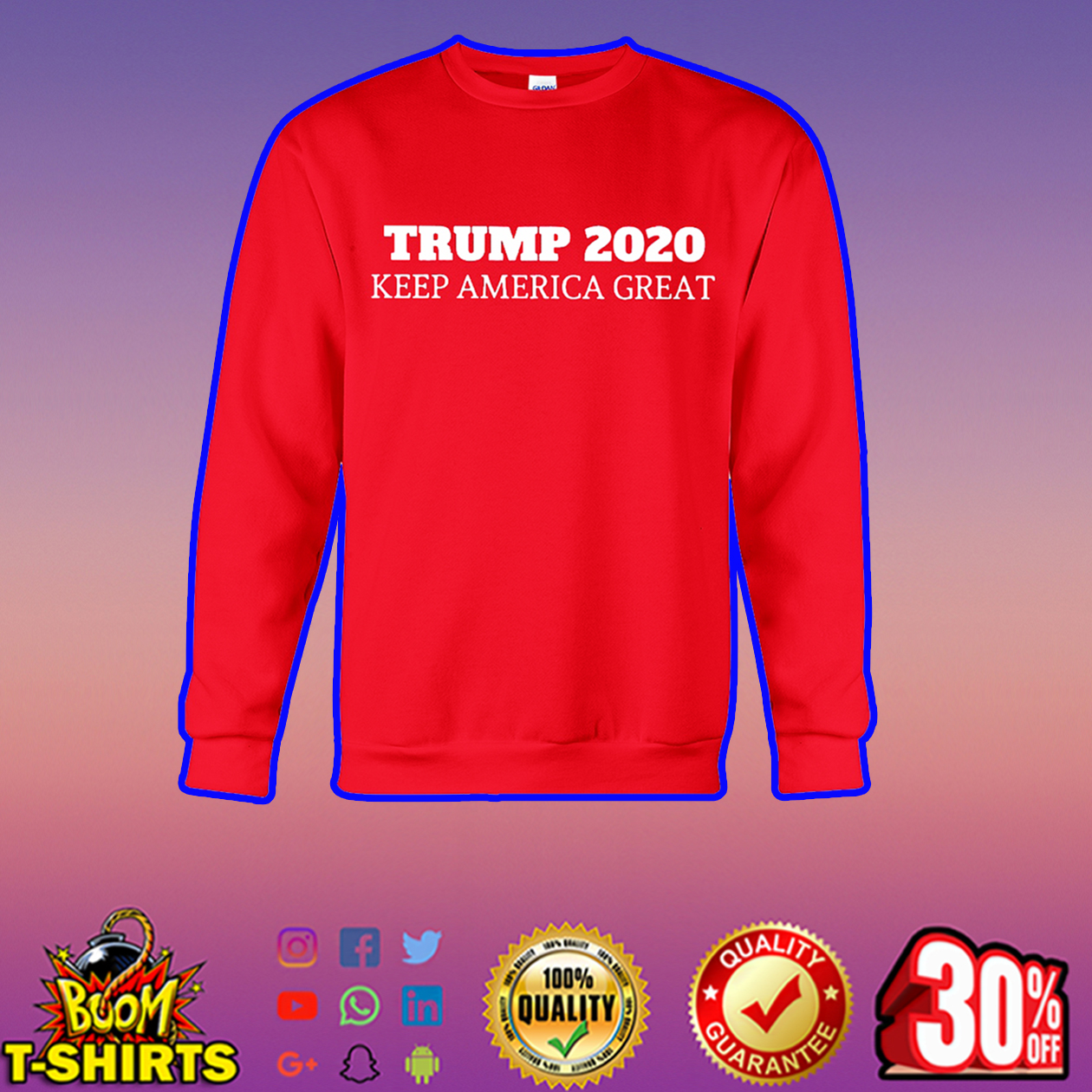 Trump 2020 keep America great sweatshirt