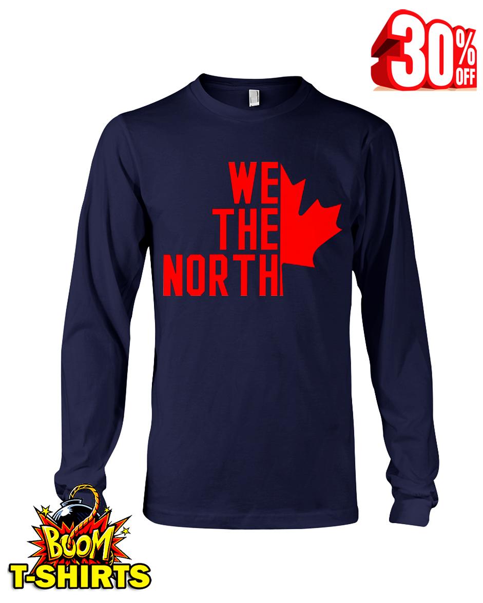 We the north Canada long sleeve tee