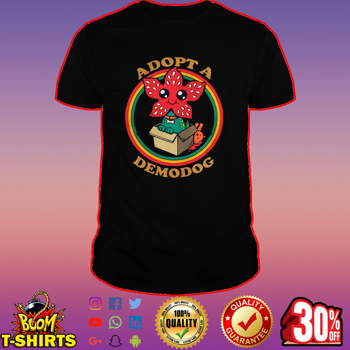 Adopt a demodog Stranger Things shirt