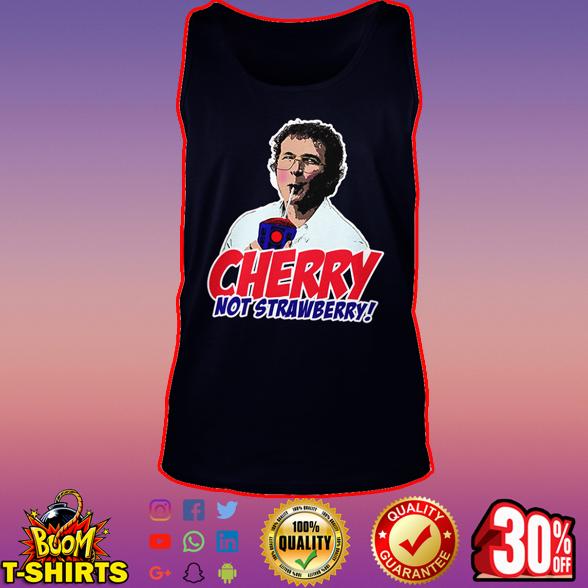 Alexei Cherry not strawberry tank top