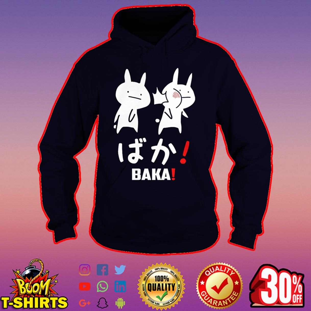 Anime Baka Rabbit Slap hoodie