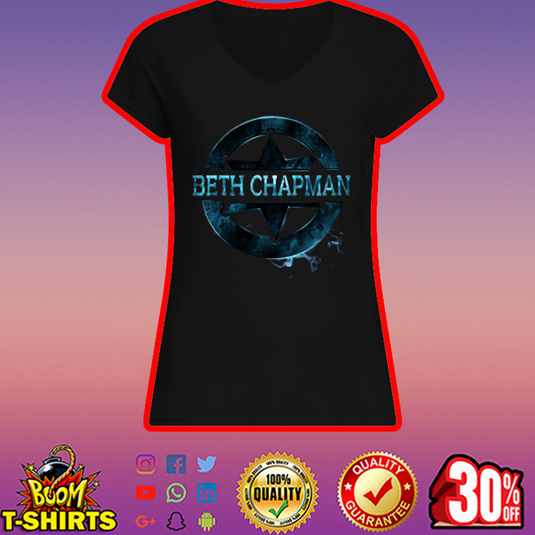 Beth Chapman v-neck