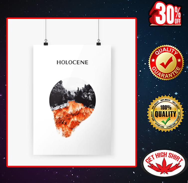 Bon Iver Holocene poster A4 (210 x 297mm)