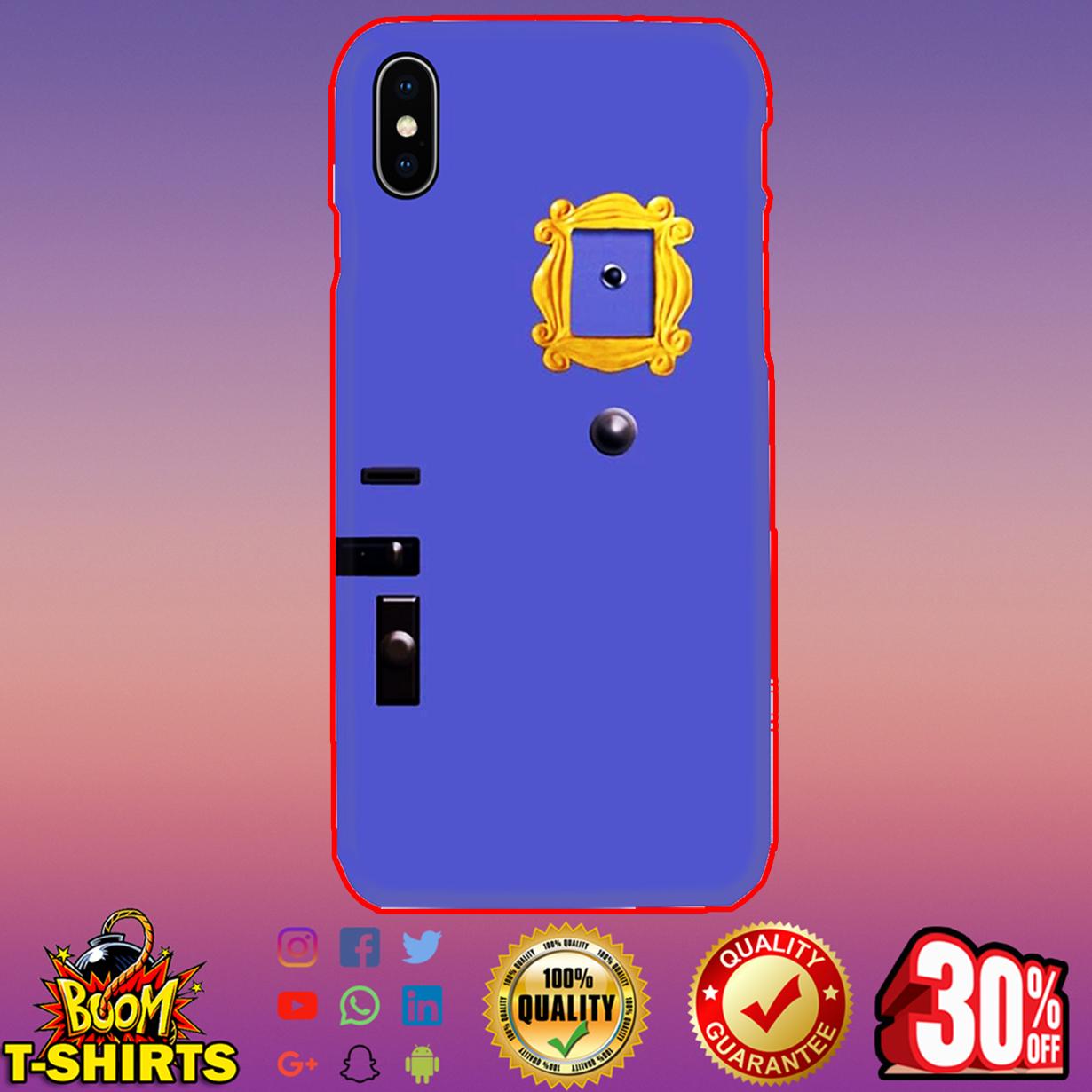 Friends Tv Show Purple Door phone case - iphone x case