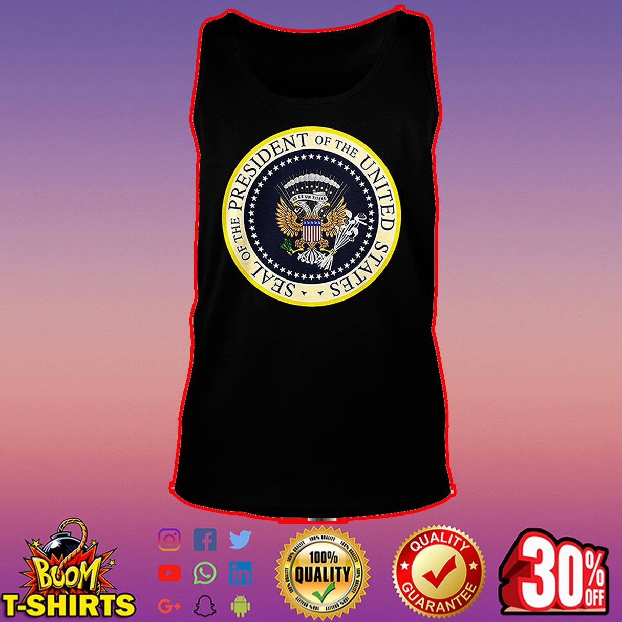 Presidential seal t shirt fake presidential seal tee shirts tank top