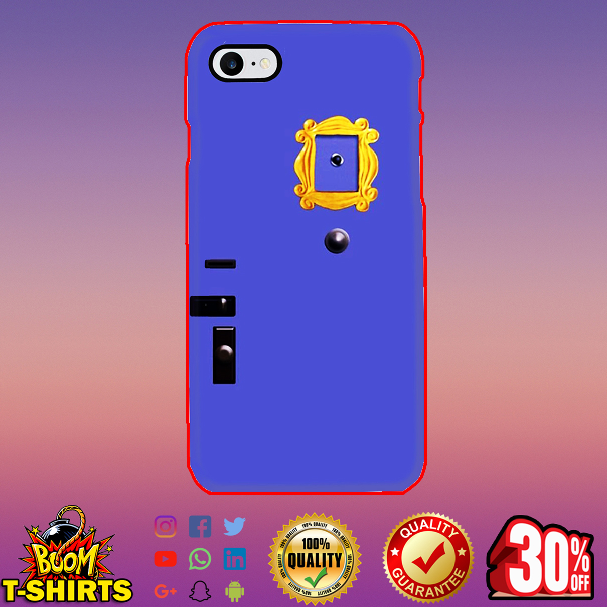 Purple Door phone case