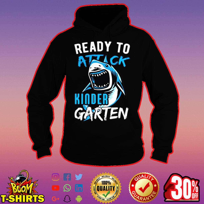 Ready to attack kinder garten hoodie