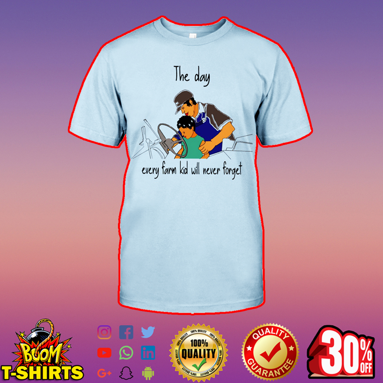 The day every farm kid will never forget t-shirt