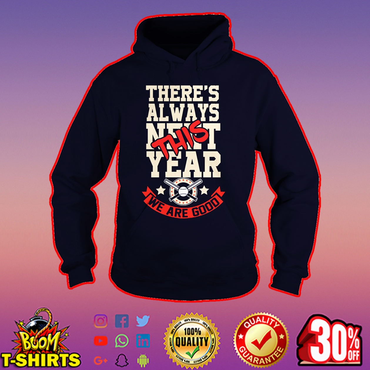 There's always this year we are good Cubs hoodie