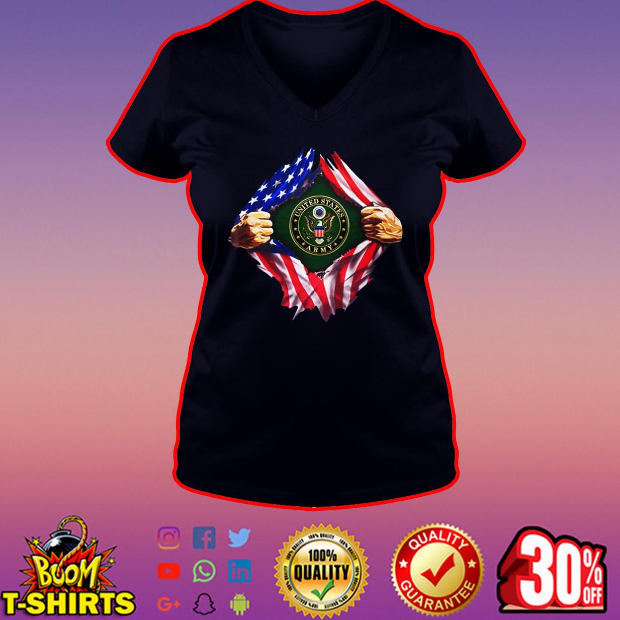 United States Army inside me v-neck