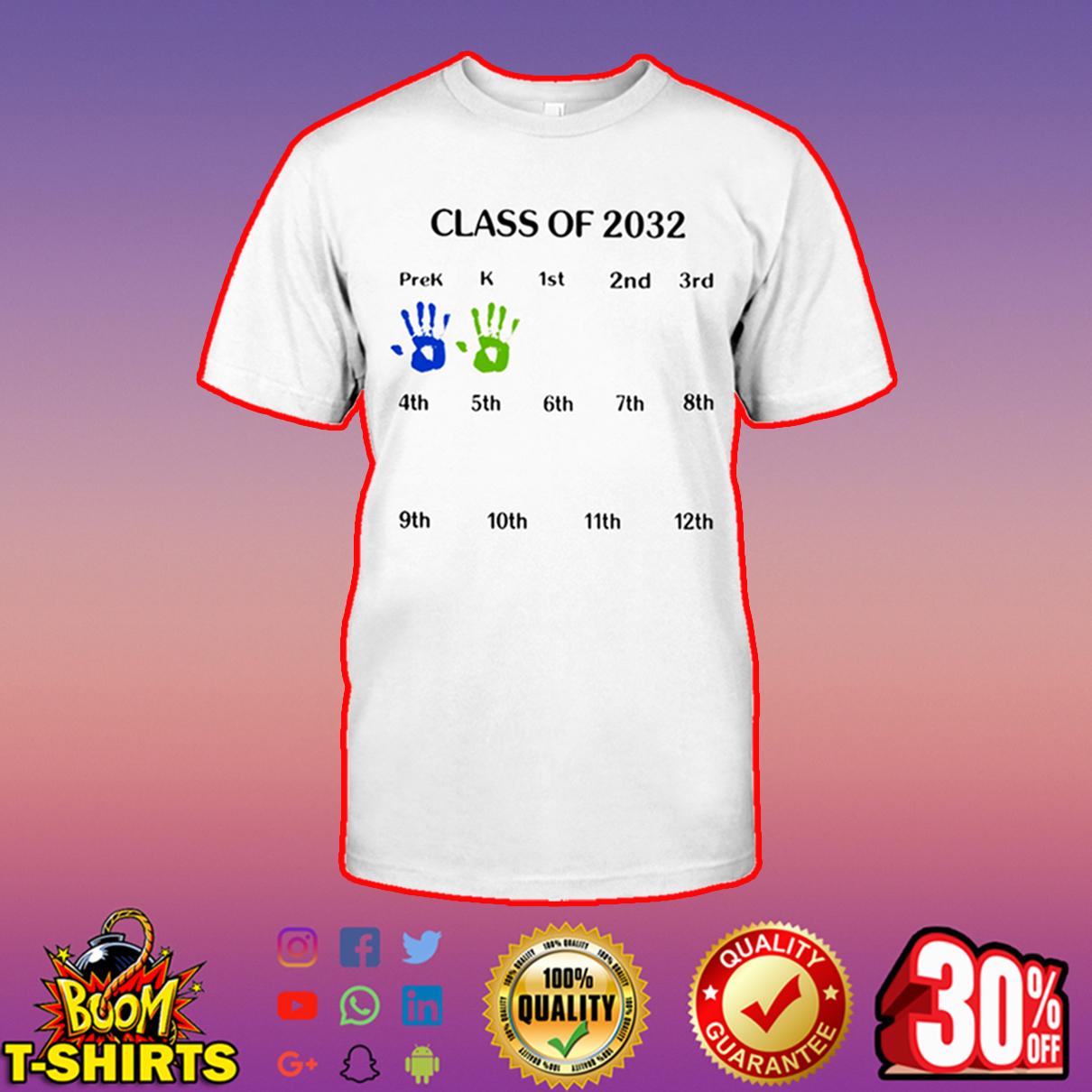 Class of 2032 shirt