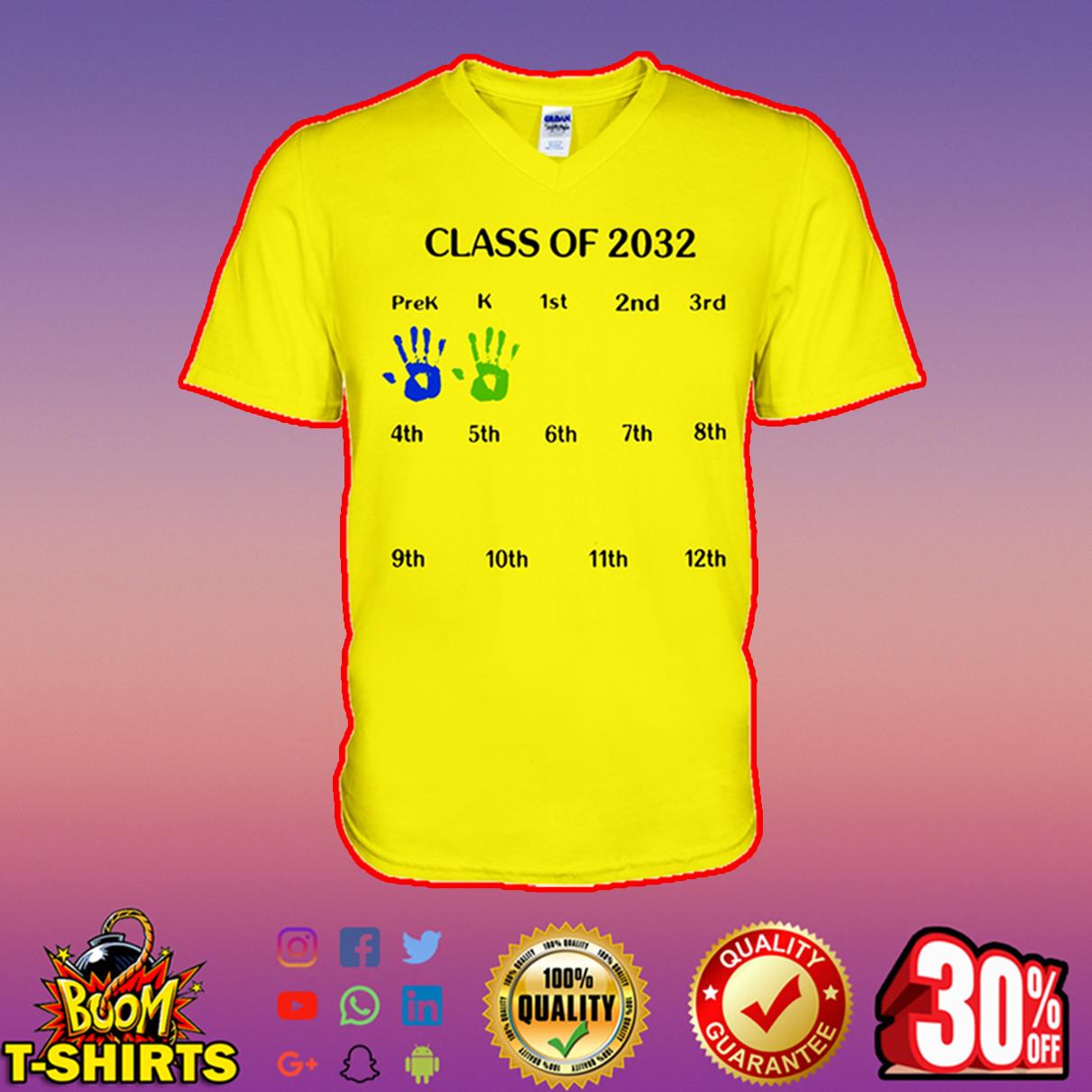 Class of 2032 v-neck