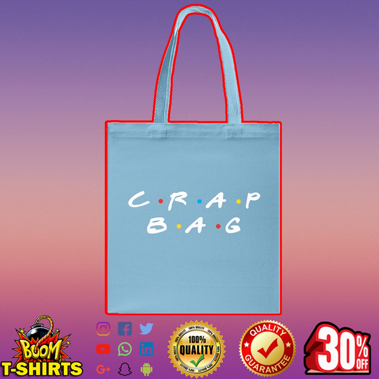 Crap bag Tote bag - blue