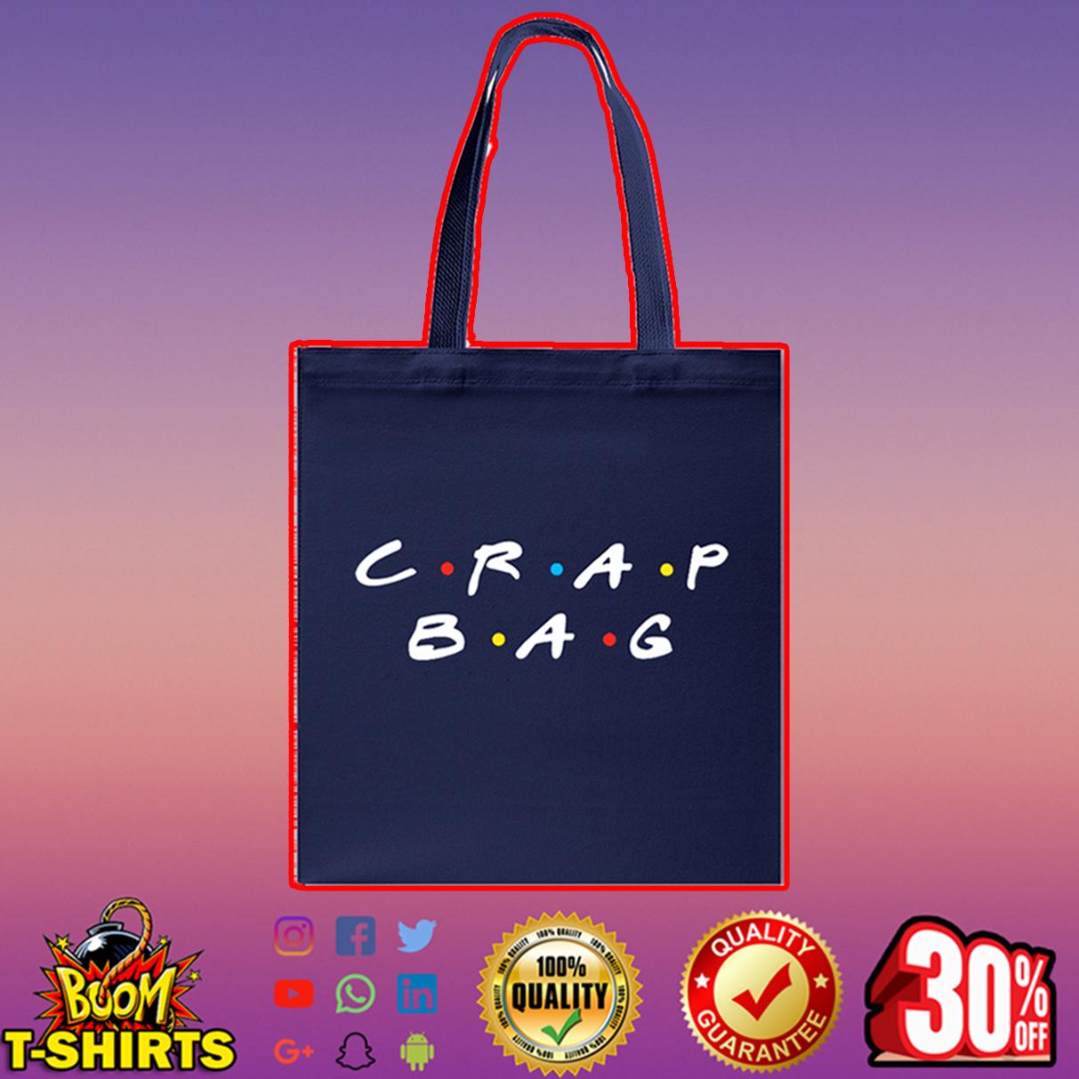 Crap bag Tote bag - navy