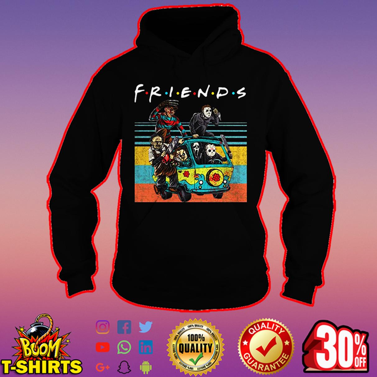 Freddy Krueger Michael Myers Leatherface Chucky Ghostface Jason Voorhees friends hoodie