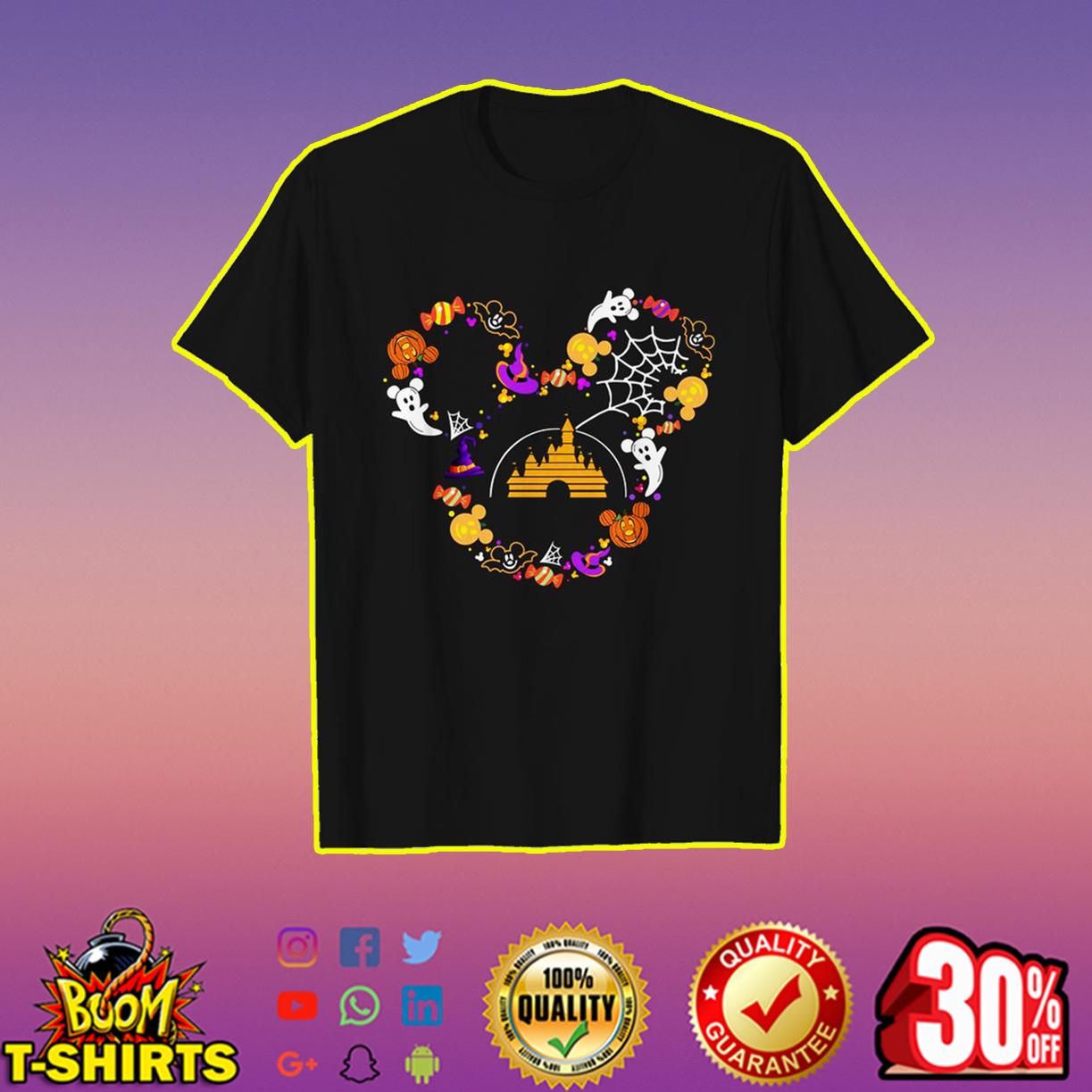 Halloween Disney logo shirt