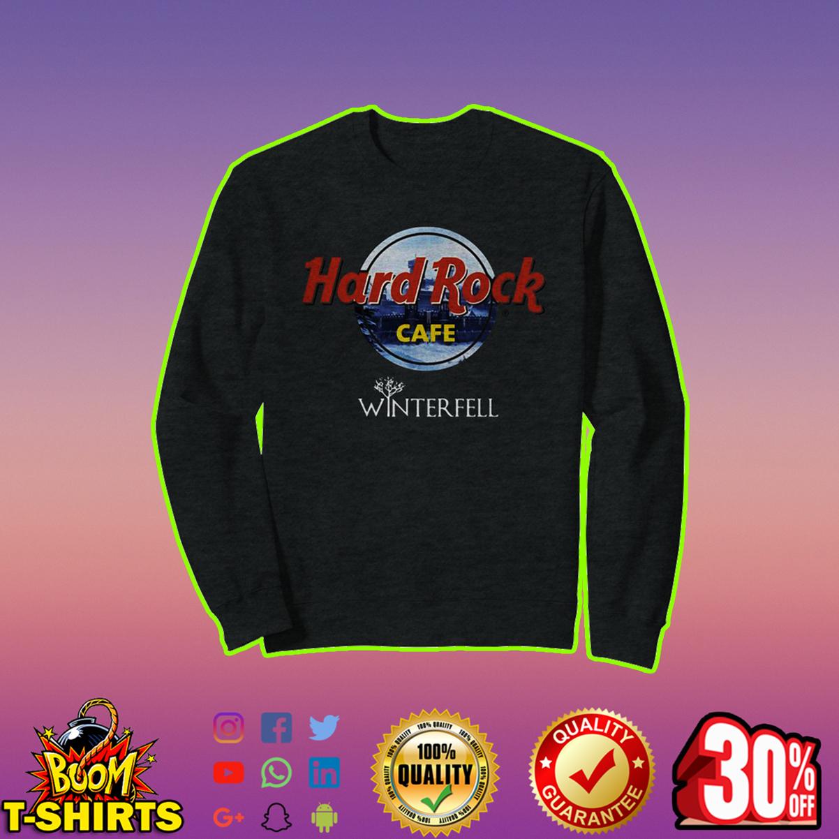 Hard Rock Cafe Winterfell sweatshirt