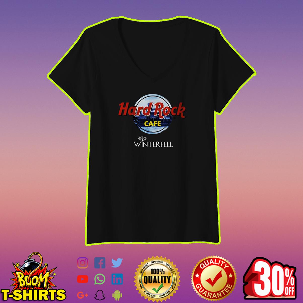 Hard Rock Cafe Winterfell v-neck
