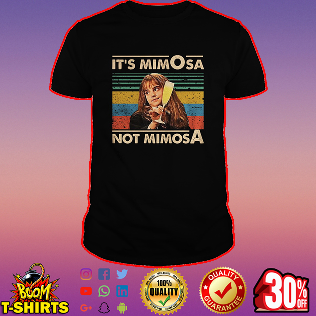 Hermione It's mimOsa not mimosA shirt
