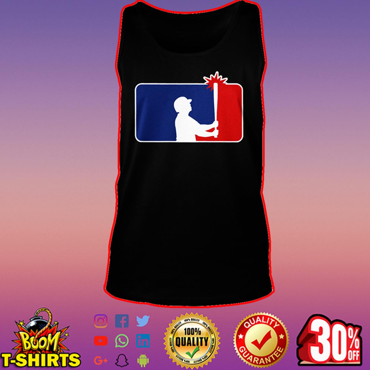 Let Brett Bang MLB tank top