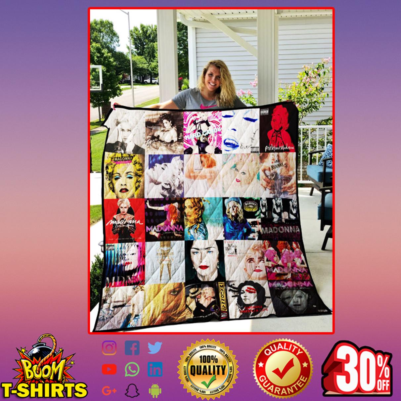 Madonna quilt blanket - Queen