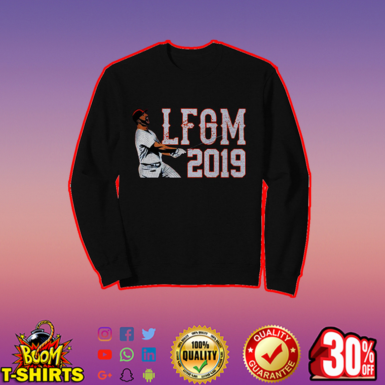 Pete Alonso LFGM 2019 sweatshirt