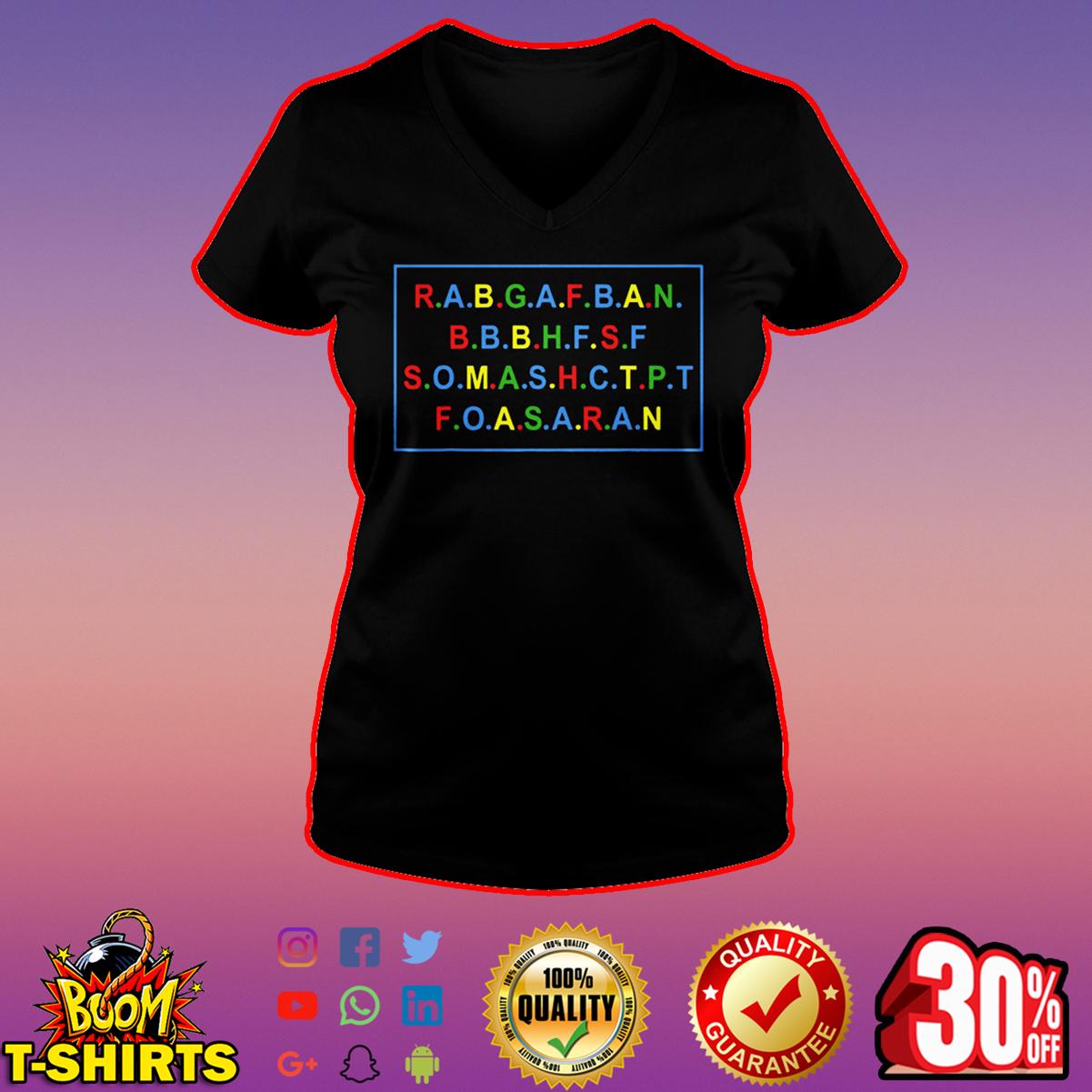 RABGAFBAN City Girls Act Up v-neck
