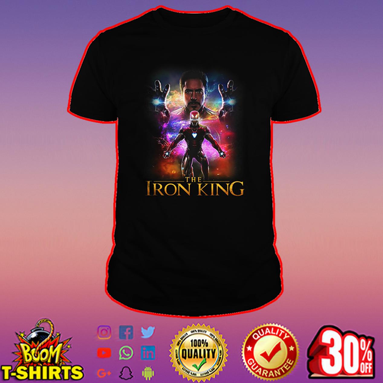 Stark The Iron King shirt