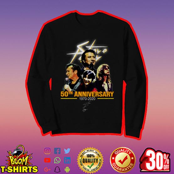 Steve Perry 50th anniversary signature sweatshirt
