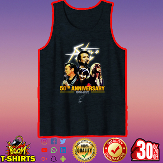Steve Perry 50th anniversary signature tank top