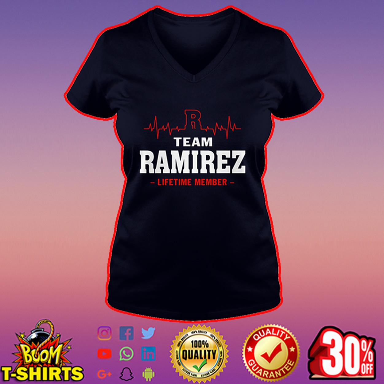 Team Ramirez lifetime member v-neck
