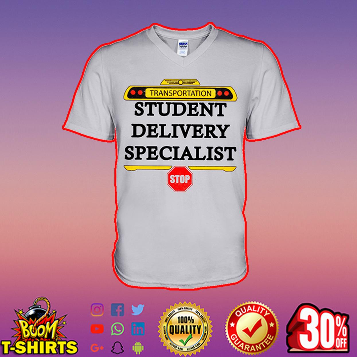 Transportation student delivery specialist v-neck