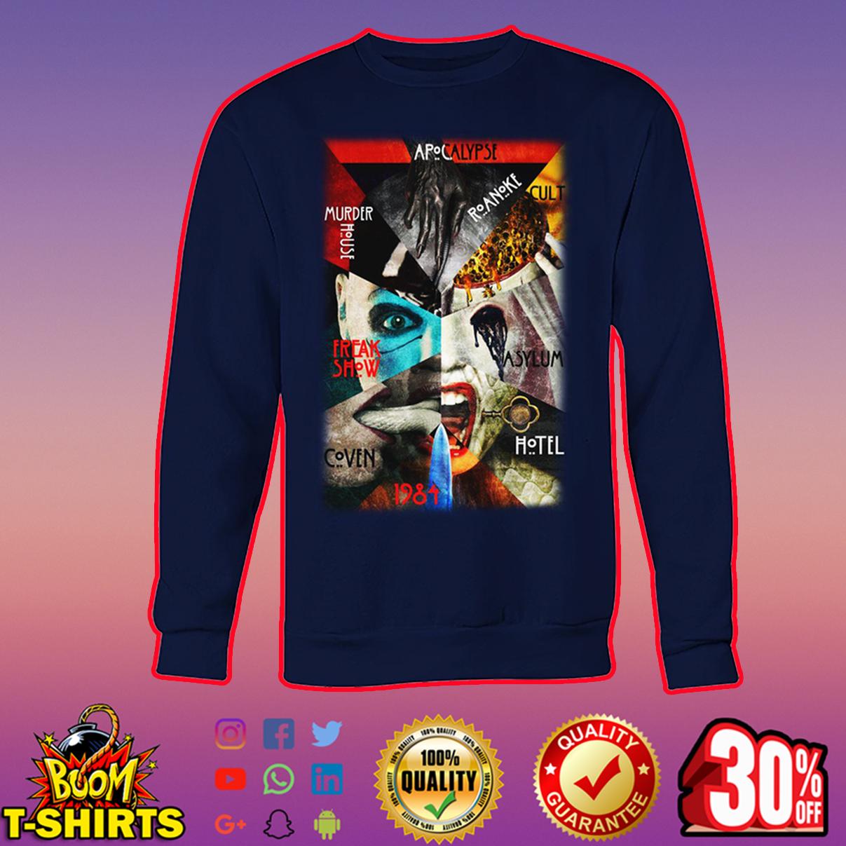 American Horror Story All Season sweatshirt
