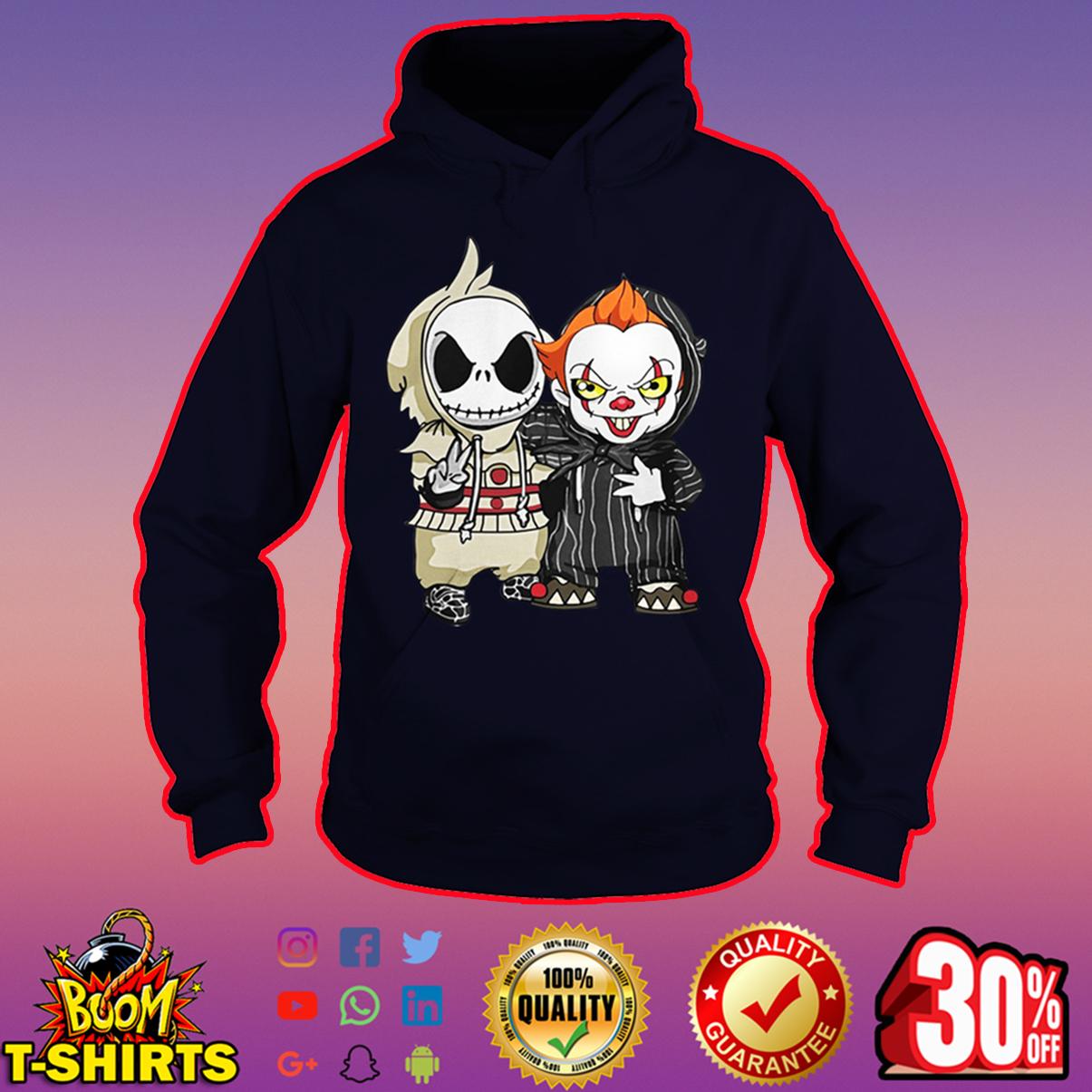 Baby IT and Jack Skellington hoodie