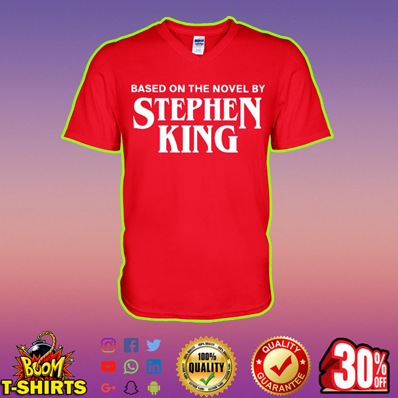 Based on the novel by Stephen King v-neck