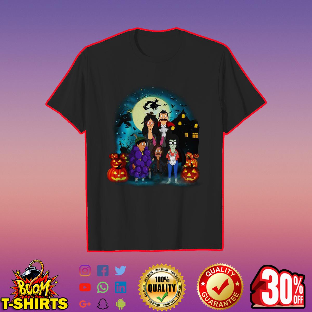 Bob's Burgers Belcher Family Halloween shirt