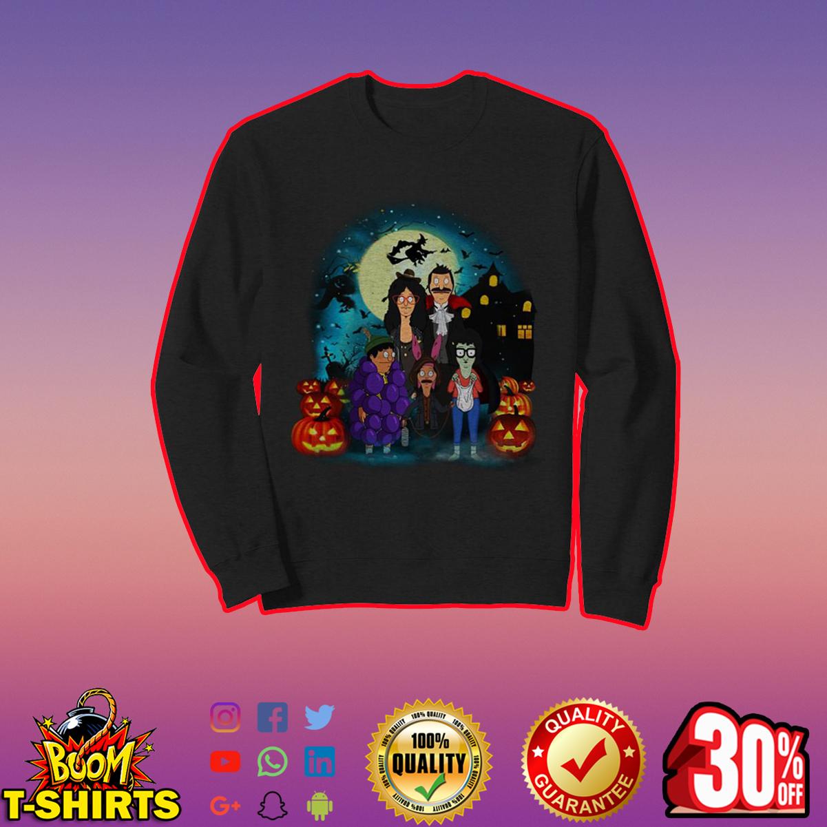 Bob's Burgers Belcher Family Halloween sweatshirt