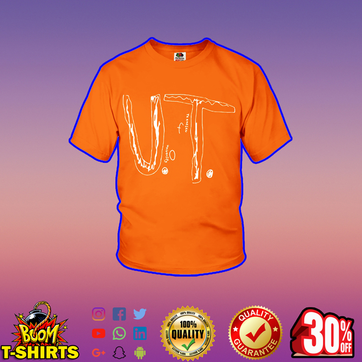 Bullied Boy University of Tennessee youth t-shirt